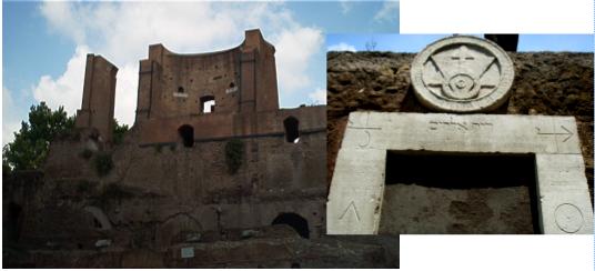 Roma nascosta archeoguide - Porta magica piazza vittorio ...